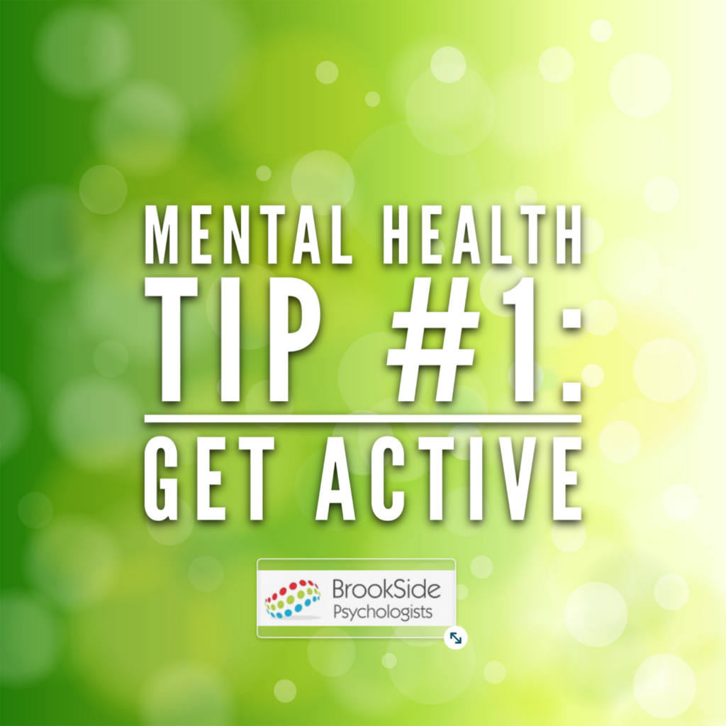 Getting Active – Mental Health Tip